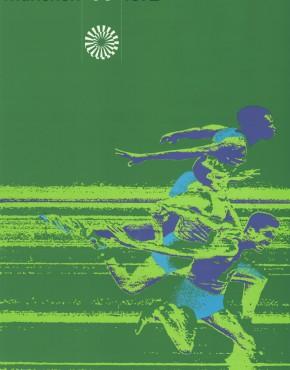Original Poster von der Olympiade in München 1972