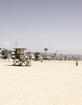 Diese aufgezogene veredelte Fotografie hat Patrik Soetje in Los Angeles aufgenommen