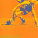 Echtes Poster von Otl Aicher zur Sportart Ringen 1972