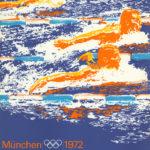 Originalplakat von der Olympiade im Jahr 1972