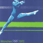 Olympisches Originalplakat von 1972 zum Turnen