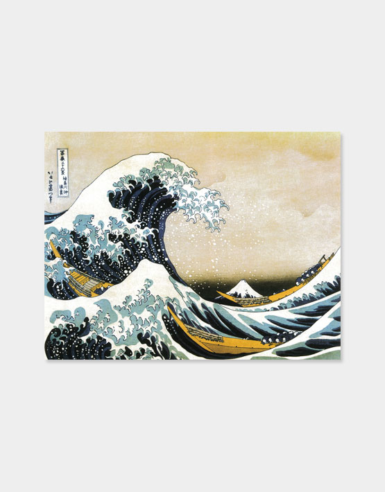 The Wave Of Kanagawa Als Fertiges Wandbild Online Kaufen